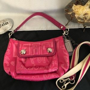 COACH Poppy Storypatch Handbag No. D1073-15302